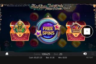 Fairytale Legends Hansel & Gretel Mobile Slot Free Spins