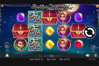 Fairytale Legends Hansel & Gretel Mobile Slot Game