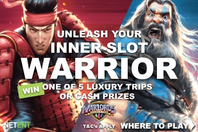 Win With NetEnt Warlords Slot Promotion