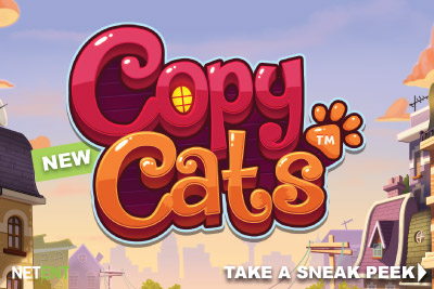 New Slot Copy Cats Announced By Netent