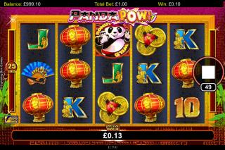 Panda Pow Mobile Slot Machine