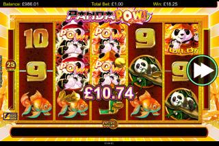 Panda Pow Mobile Slot Free Spins