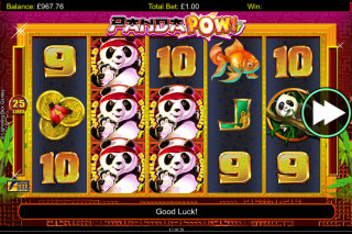 Panda Pow Stacked Wilds