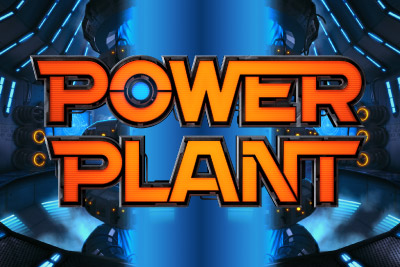 Power Plant Mobile Slot Logo