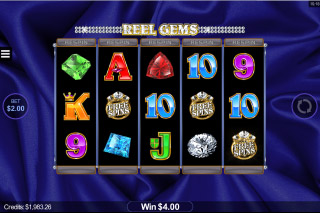 Reel Gems Mobile Slot Free Spins Symbol