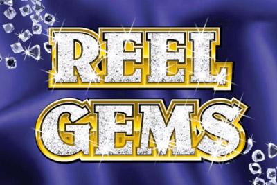Reel Gems Mobile Slot Logo