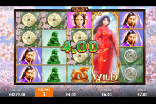 Sakura Fortune Mobile Slot Free Spins