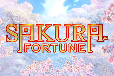 Sakura Fortune Mobile Slot Logo
