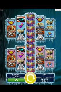 Siberian Storm Dual Play Mobile Slot Game
