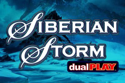 Siberian Storm Dual Play Mobile Slot Logo