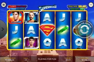 Superman II Mobile Slot Game