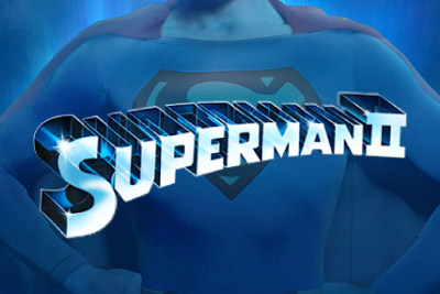 Superman II Mobile Slot Logo