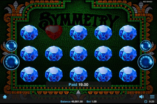 Symmetry Mobile Slot Bonus Round