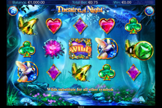 Theatre Of Night Mobile Slot Machine