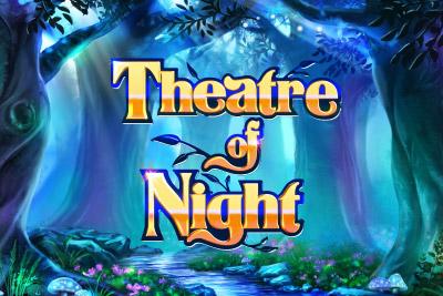 Theatre Of Night Mobile Slot Logo