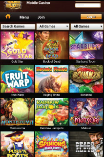Video Slots Mobile Casino