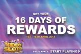Get Your 16 Days Of Eggstravagant Rewards This Easter
