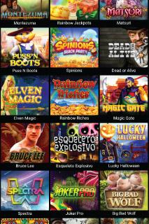 VideoSlots Mobile Casino Slots