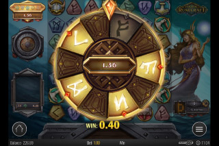 Viking Runecraft Mobile Slot Bonus Wheel