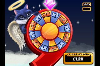 9 Lives Mobile Slot Feature