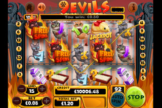 9 Lives Mobile Slot Free Spins Bonus