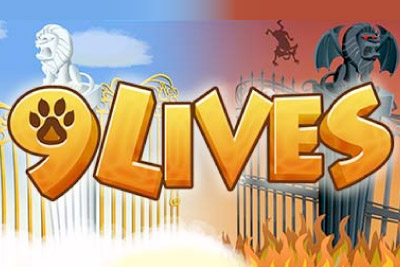 9 Lives Mobile Slot Logo