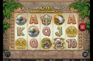 Aztec Warrior Princess Mobile Slot Game