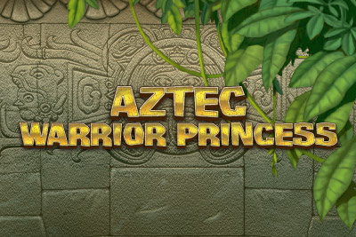 Aztec Warrior Princess Mobile Slot Logo