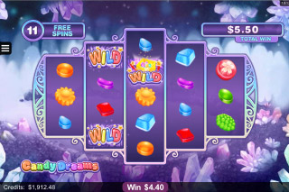 Candy Dreams Mobile Slot Free Spins