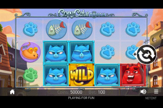 Copy Cats Mobile Slot Game