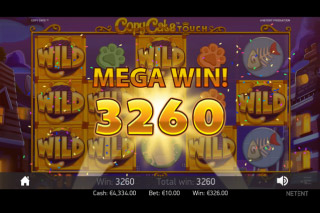 Copy Cats Mobile Slot Mega Win