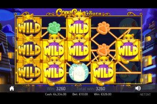 Copy Cats Mobile Slot Wild Win
