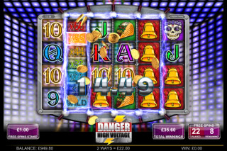 Danger High Voltage Mobile Slot Bonus
