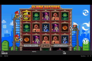 Thunderkick Flame Busters Mobile Slot Machine
