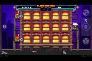 Thunderkick Flame Busters Mobile Slot Fire Bonus