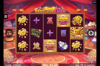 Fortune Girl Mobile Slot Machine