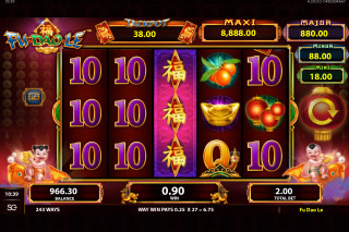 Fu Dao Le Mobile Slot Expanding Wilds