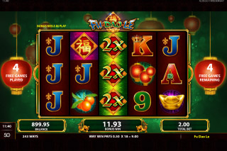 Fu Dao Le Mobile Slot Free Spins