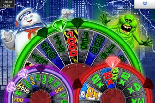 Ghostbusters Triple Slime Mobile Slot Bonus Wheels