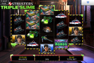 Ghostbusters Triple Slime Mobile Slot Game
