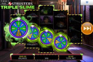 Ghostbusters Triple Slime Mobile Slot Slimer Bonus