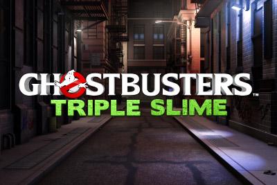 Ghostbusters Triple Slime Mobile Slot Logo
