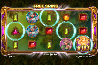 Goldwyn's Fairies Mobile Slot Free Spins Wilds