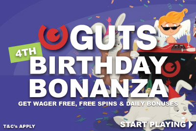 Get Your Guts Free Spins & Daily Bonus Boosts