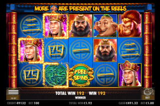 Journey To The West Mobile Slot Free Spins