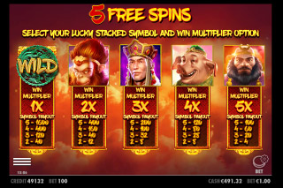 Journey To The West Mobile Slot Free Spins Choice