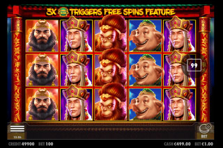 Journey To The West Mobile Slot Game
