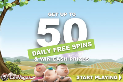 Get Your Daily LeoVegas Free Spins Bonus Every Day