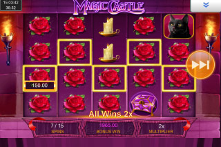 Magic Castle Mobile Slot Free Spins