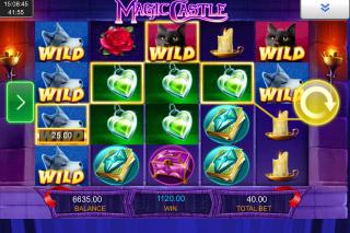 Magic Castle Mobile Slot Wilds